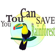 You TouCan Save the Rainforest
